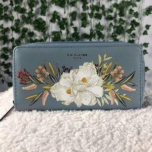NWOT David Jones Floral Print Wallet